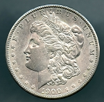 1900 Morgan Dollar XF 45 plus