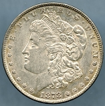 1878 7/8TF Morgan Dollar AU-50