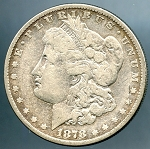 1878 7/8 TF Morgan Dollar Very Good