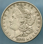 1878 7 TF Morgan Dollar VF-20