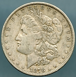 1878 7 TF Morgan Dollar Choice VF-35