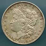 1878 S Morgan Dollar XF 40