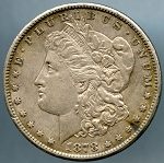1878 S Morgan Dollar Choice XF-45
