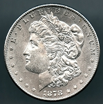 1878 S Morgan Dollar MS 60