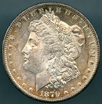 1879 S Morgan Dollar Choice B.U. MS-64 DMPL
