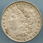 1880 Morgan Dollar VF-35