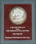 1881 S Morgan Dollar MS-65 from the Redfield Collection