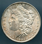 1882 CC Morgan Dollar Choice B.U. MS-60