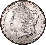 1884 CC Morgan Dollar MS-63