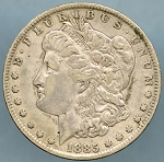 1885 O Morgan Dollar VF-35