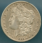 1895 O Morgan Dollar VF-30