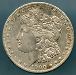 1900 S Morgan Dollar XF 40