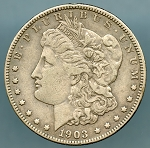 1903 Morgan Dollar VF 35