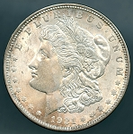 1921 D Morgan Dollar Choice B.U. MS-63