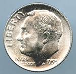 1953 D Roosevelt Dime Choice B.U. MS-63