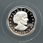 1979 S Ty 2 Susan B Anthony Dollar Gem Proof