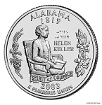 2003 D Alabama Statehood Quarter D Mint MS-63
