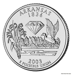 2003 D Arkansas Statehood Quarter D Mint MS-63