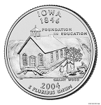 2004 D Iowa Statehood Quarter D Mint MS-63