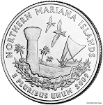 2009 P Northern Mariana Islands Statehood Quarter P Mint MS-63
