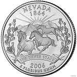 2006 D Nevada Statehood Quarter D Mint MS-63