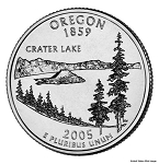 2005 P Oregon Statehood Quarter P Mint MS-63