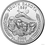 2006 P South Dakota Statehood Quarter P Mint MS-63