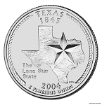 2004 D Texas Statehood Quarter D Mint MS-63