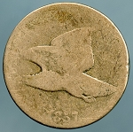 1857 Flying Eagle Cent Cull