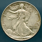1942 Walking Half Dollar  XF- 40