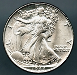 1944 Walking Half Dollar MS-64