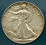 1946 Walking Half Dollar XF 40