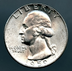 1959 Washington Quarter MS 63