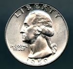 1959 D Washington Quarter MS 63