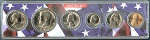 1981 United States Year Set - Birth Year Insert - 6 Coin Set