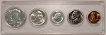 1964 United States Year Set - 5 Coin Set