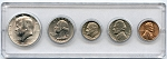 1965 United States Year Set - 5 Coin Set