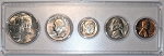1967 United States Year Set - 5 Coin Set