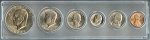1978 United States Year Set - 6 Coin Set