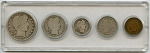 1909 United States Year Set - 5 Coin Set