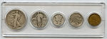 1927 United States Year Set - 5 Coin Set