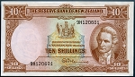 New Zealand 1967 10 Shillings VF P158D