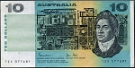 Australia 1983 Ten Dollar VF P45d