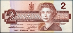Canada 1986 Two Dollar CU P94b