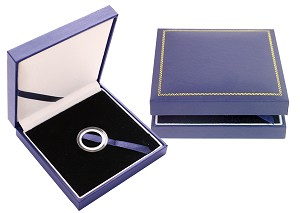 "Guardhouse Leatherette Display Box - Holds Air-Tite ""A"" Sized Direct Fit Capsule, 22010"