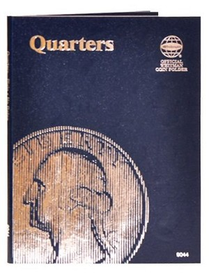 Whitman Plain Quarter Coin Folder - (9044)
