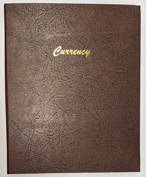 Dansco Currency Album - Preowned