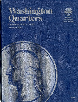 Whitman Folder Washington Quarter 1932 to 1945 Number 1 - 9018