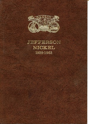 "Dansco Deluxe™ ""all in one™"" Coin Folder - Jefferson Nickel - No. 113"