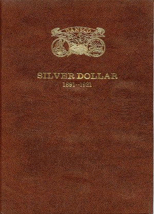 "Dansco Deluxe™ ""all in one™"" Coin Folder - General Dollar 1891-1921-S - No. 180"